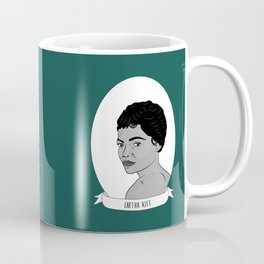 Eartha Kitt Illustrated Portrait Coffee Mug