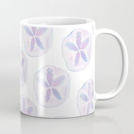 Mermaid Currency - Purple Sand Dollar Coffee Mug