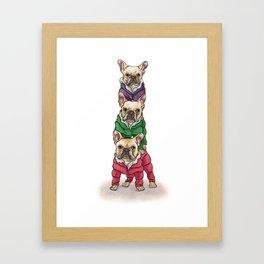 Lilly, Nikko, Mae Ling Framed Art Print