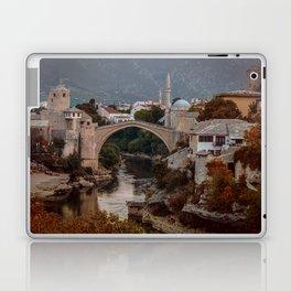 An Old bridge in Mostar Laptop & iPad Skin
