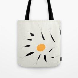 fish and yellow Tote Bag