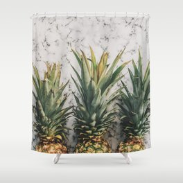 Pineapple Luxe Shower Curtain