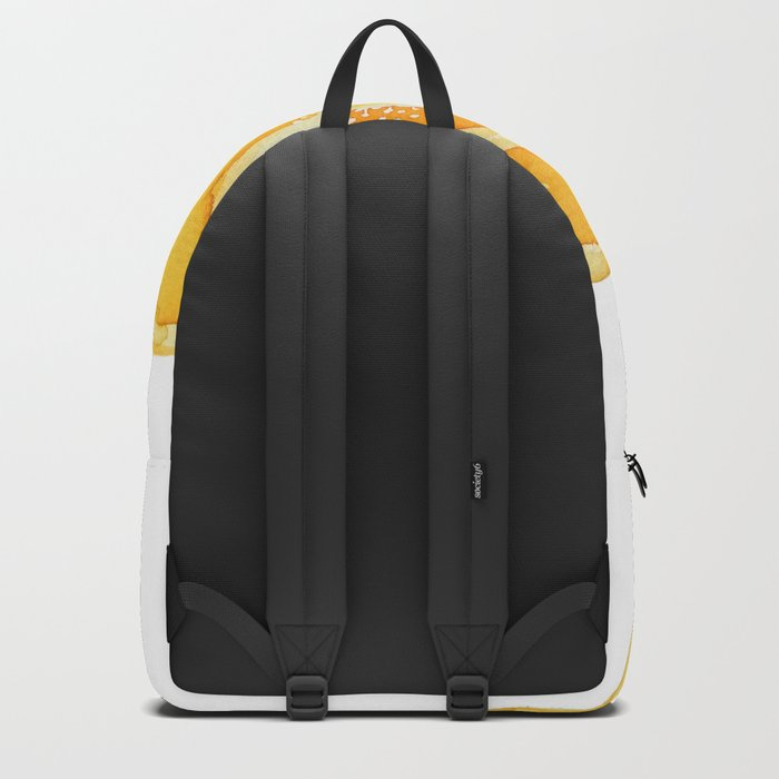 yellow bell pepper watercolor Backpack