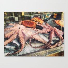 Fresh Catch Canvas Print