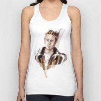 james franco Tank Tops featuring James by Myrtle Quillamor