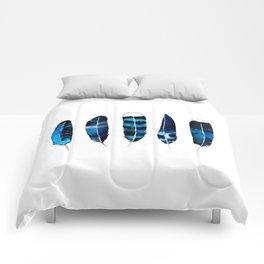 Sea Feathers Comforters
