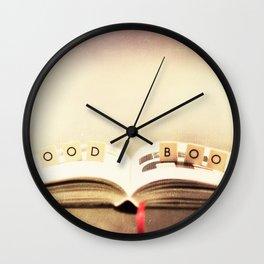 Good book Wall Clock