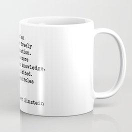 Albert Einstein Quote 08 Coffee Mug