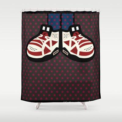 AIR JORDAN 6 Originalitypieces 6999 5 Shower Curtain