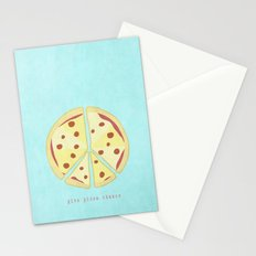 Give Pizza Chance Stationery Cards