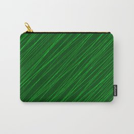 Royal ornament of their green threads and dark intersecting fibers. Carry-All Pouch