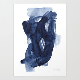 Indigo #6 Art Print