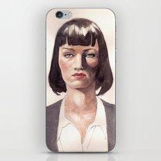 Mia Wallace iPhone & iPod Skin