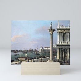 Canaletto Bacino di S. Marco From the Piazzetta Mini Art Print