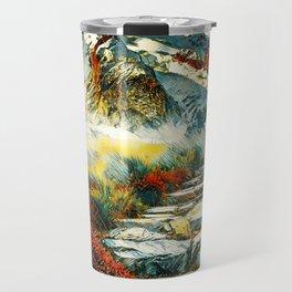 Paradise Mountain Travel Mug