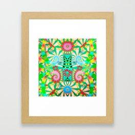 Joyful spring  Framed Art Print