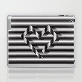 le coeur impossible (nº 1) Laptop & iPad Skin