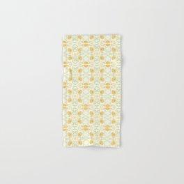 Yellow spring flowers Hand & Bath Towel