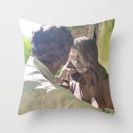 Frozen love Throw Pillow