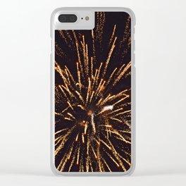 Firework Clear iPhone Case