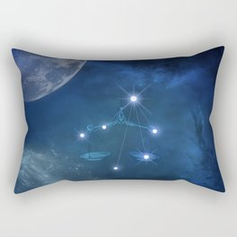 Zodiac sings libra Rectangular Pillow