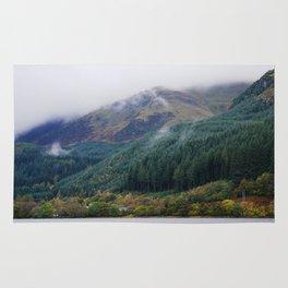 Misty forest #1 Rug