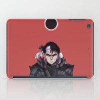 berserk iPad Cases featuring Guts Berserk by Kurodoj