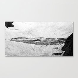 high in the glacier II Canvas Print