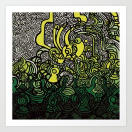 DEPTH-CHARGE Art Print