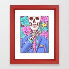 The Death of Art Framed Art Print