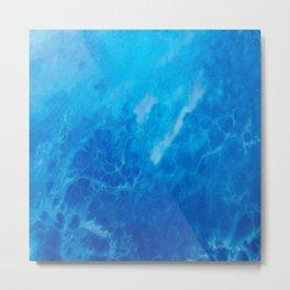 Ocean Reflections Metal Print
