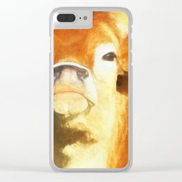 A Moo Attitude Clear iPhone Case