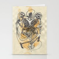 gemini Stationery Cards featuring Gemini by Anna Rosenfeld