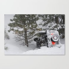 Winter Wipeout Canvas Print