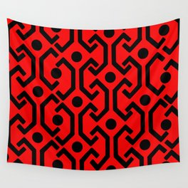 Ethic Pattern (red) Wall Tapestry