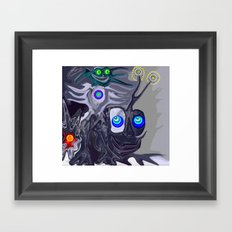 Cai Shen Framed Art Print