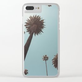 Beverly Hills Palms California Clear iPhone Case