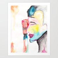 Withdrawn Art Print