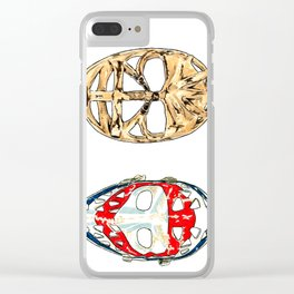 Double Dryden Clear iPhone Case