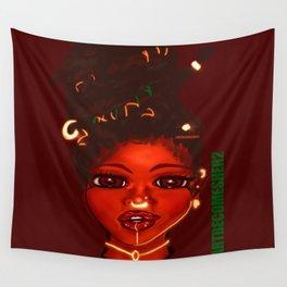 Jada - Rouge Empress of Judah Wall Tapestry
