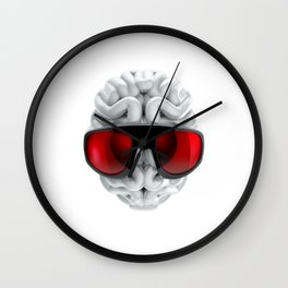 Keep a Cool Mind Wall Clock