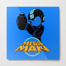 Megaman Metal Print
