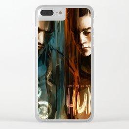 Derek & Stiles Clear iPhone Case