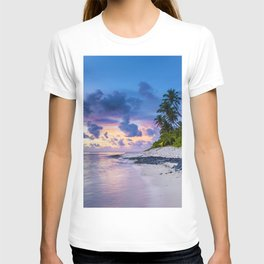 Picturesque Beach View (Color) T-shirt