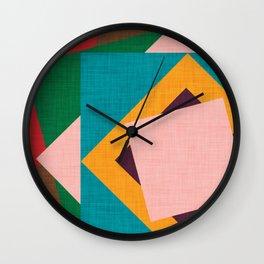 Kilim flower Wall Clock