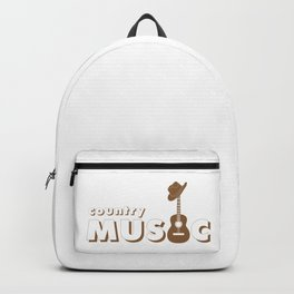 Country music Backpack
