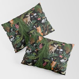 Winter Forest Animals Pillow Sham