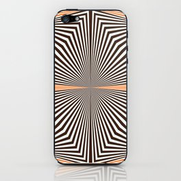 Orange #451 iPhone Skin