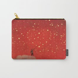 Constellation - Red Carry-All Pouch