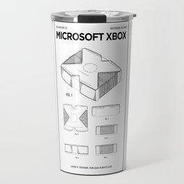 Xbox Poster • Microsoft Gamer Prints • Xbox Patent Printable • Gift For Gamer • Gamer Present Travel Mug